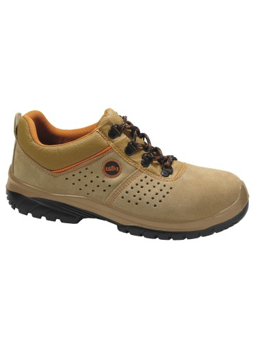 Zapato ARNO perforado camel EN ISO 20345 S1P SRC