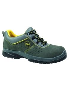 Zapato de seguridad TIRSO perforado gris EN ISO 20345 S1P SRC