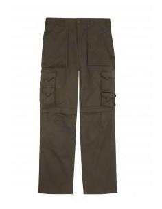 Pantalon multibolsillos con refuerzo de tejido