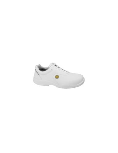 Zapato MILK blanco EN ISO 20345 S2 SRC Metal Free