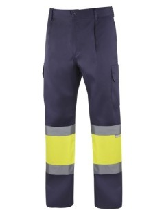 Pantalon bicolor alta visibilidad