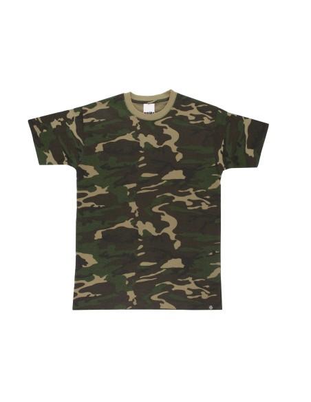 Camiseta camuflaje
