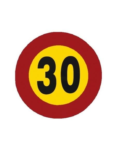Señal economica velocidad 30