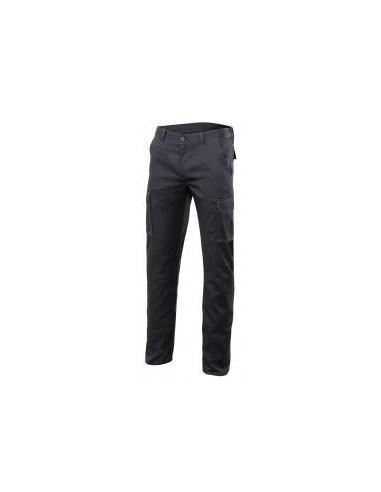 Pantalon de stretch multibolsillos