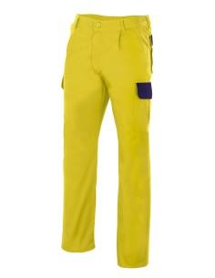 Pantalon bicolor
