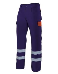Pantalon con cintas reflectantes