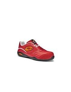 Zapato Lotto Energy 500 EN ISO 20345 S1P SRA HRO rojo