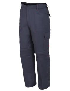 Pantalon algodon desmontable gris