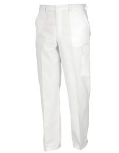 Pantalon PINTOR 100% algodon blanco
