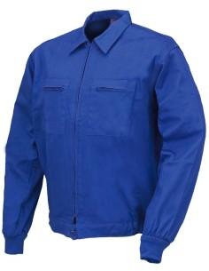 Cazadora 100% algodon azulina